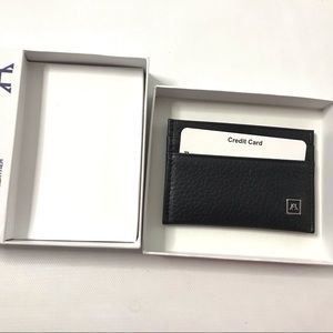 A&H Synthetic Leather Pocket Card Holder Credit